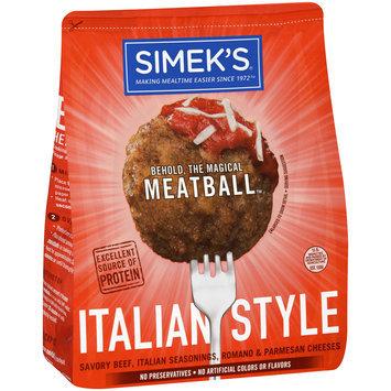 Simek's® Italian Style Meatballs 22 oz. Bag