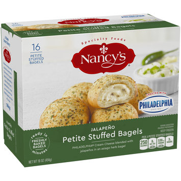 Nancy's® Jalapeno Petite Stuffed Bagels 16 oz. Box