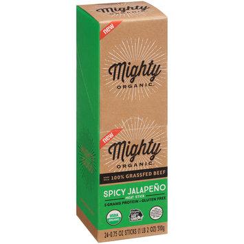 Mighty Organic™ Spicy Jalapeno Meat Stick 24-0.75 oz. Sticks