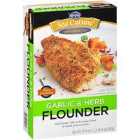 Sea Cuisine® Pan Seared Garlic & Herb Flounder 30.4 oz. Box