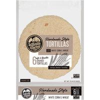 La Tortilla Factory™ White Corn & Wheat Grande Handmade Style Tortillas 6 ct Bag