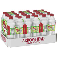 ARROWHEAD Sparkling Zesty Lime Mountain Spring Water 24 ct Pack