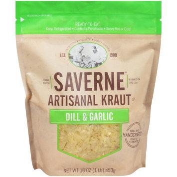Saverne® Artisanal Dill & Garlic Kraut 16 oz. Pouch