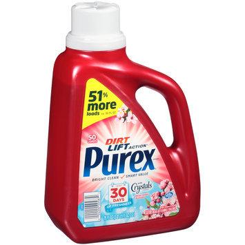 Purex® Dirt Lift Action® Fresh Cherry Blossom with Crystals Freshness Laundry Detergent 75 fl. oz. Jug