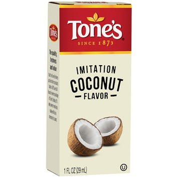 Tone's® Imitation Coconut Extract 1 fl. oz. Bottle