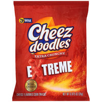 Wise® Cheez Doodles® Extra Crunchy™ Extreme Cheese Flavored Corn Snacks 0.875 oz. Bag