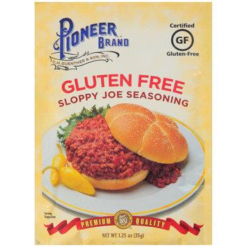 Pioneer™ Brand Gluten Free Sloppy Joe Seasoning 1.25 oz. Packet