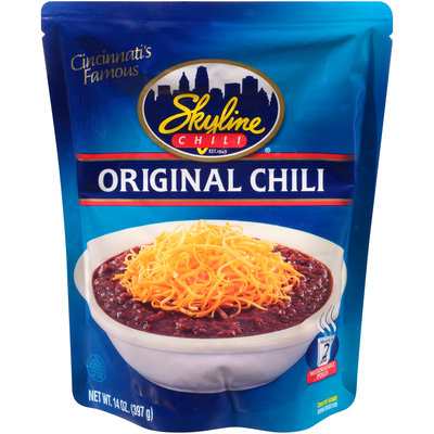 Skyline Chili® Original Chili 14 oz. Pouch