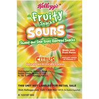 Kellogg's® Fruity Snacks Sours Citrus Fruit Flavored Snacks