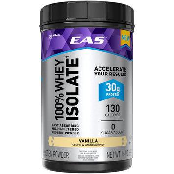 EAS® 100% Whey Isolate† Vanilla Protein Powder 24 oz. Jar