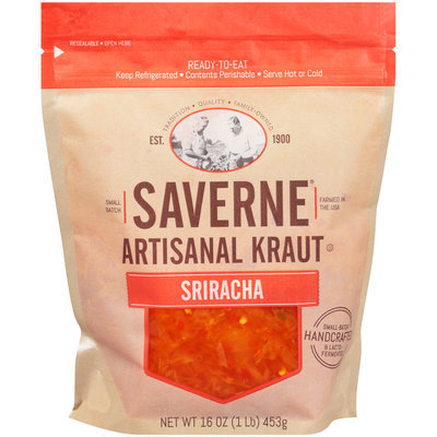 Saverne® Artisanal Sriracha Kraut 16 oz. Pouch