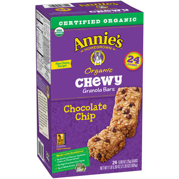 Annie's™ Chocolate Chip Organic Chewy Granola Bars 24 ct Box