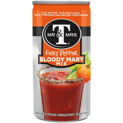 Mr. & Mrs. T® Fiery Pepper Bloody Mary Mix 5.5 fl. oz. Can