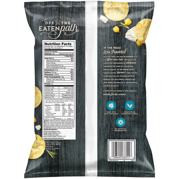 Off the Eaten Path™ Feta & Herb Hummus Crisps 5 oz. Bag