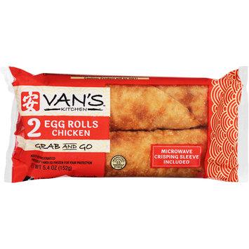 Van's™ Kitchen Chicken Egg Rolls 2 ct. Pack