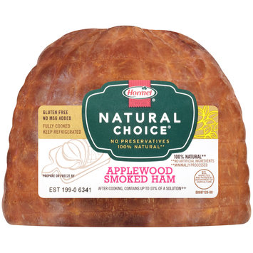 Hormel® Natural Choice® Applewood Smoked Ham Pack
