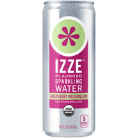 IZZE® Raspberry Watermelon Sparkling Water Beverage 8.4 fl. oz. Can
