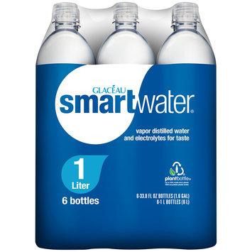 Glaceau Smart Water® 6-33.8 fl. oz. Plastic Bottles