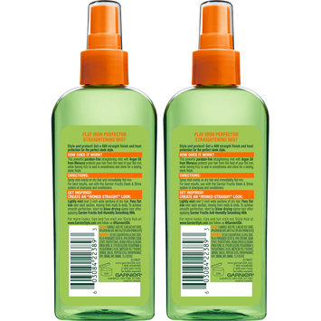 Garnier® Fructis® Style Sleek & Shine Flat Iron Perfector Straightening Mist 2-6 fl. oz. Spray Bottles