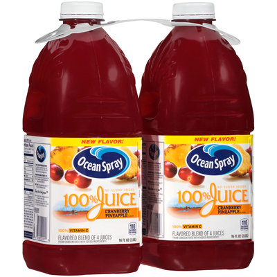 Ocean Spray® Cranberry Pineapple Flavor 100% Juice