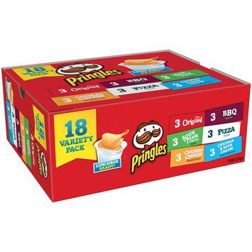 Pringles® The Original, Sour Cream & Onion, Cheddar Cheese, BBQ, Pizza, Cheddar & Sour Cream Potato Crisps Variety Pack