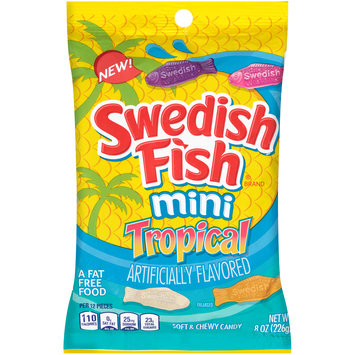 Swedish Fish® Mini Tropical Candy 8 oz. Bag