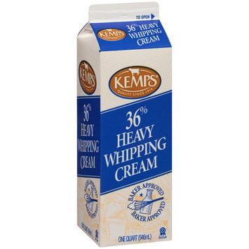 Kemps® 36% Heavy Whipping Cream 1 qt. Carton