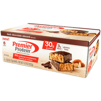 Premier Protein® Dark Chocolate Almond High Protein Bar 6-2.53 oz. Bar