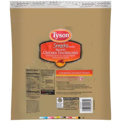 Tyson® Sriracha Breaded Chicken Tenderloins 32 oz. Bag
