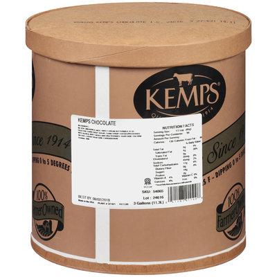 Kemps® Chocolate Ice Cream 3 gal. Tub