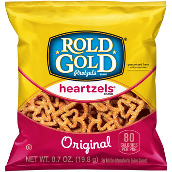 Rold Gold® Heartzels® Original Pretzels 0.7 oz. Bag
