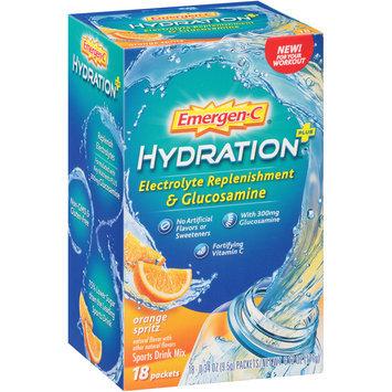 Emergen-C® Orange Spritz Hydration + Electrolyte Replenishment Sports Drink Mix 18-0.34 oz. Packets
