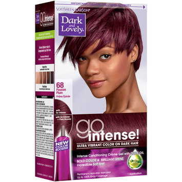 Softsheen-Carson® Dark and Lovely® Go Intense! Hair Color 68 Passion Plum 1 kt Box