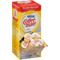 Nestle Coffee-mate Chocolate Chip Cookie Liquid Coffee Creamer 50-0.375 fl. oz. Tubs