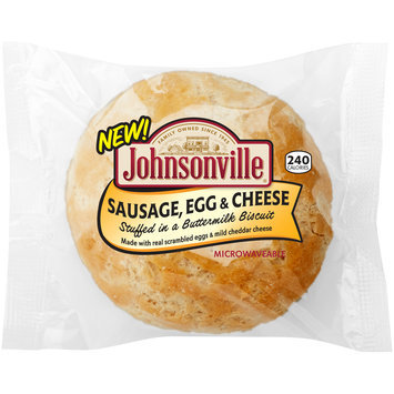 Johnsonville® Sausage, Egg & Cheese Biscuit Pack