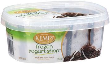 Kemps® Frozen Yogurt Shop™ Cookies 'N Cream Frozen Yogurt 1.87 pt. Tub