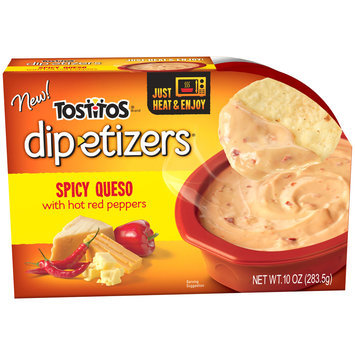 Tostitos® Spicy Queso Dip-etizers® 10 oz. Sleeve