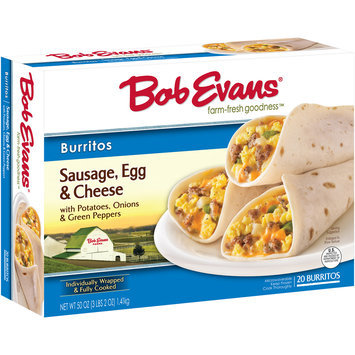 Bob Evans® Sausage, Egg & Cheese Burritos 50 oz. Box