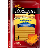 Sargento® Smokehouse Cheddar™ Natural Cheese Slices 11 ct Pouch