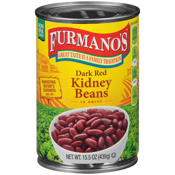 Furmano's® Dark Red Kidney Beans 15.5 oz. Can