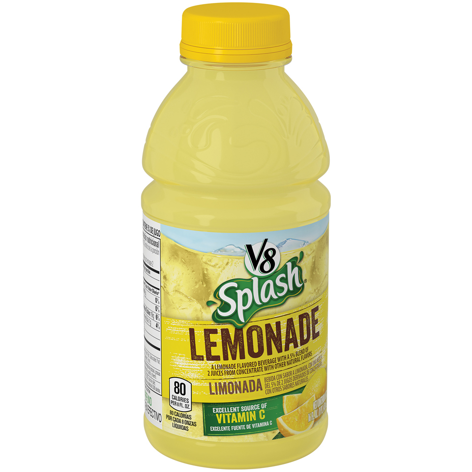 V8 Splash Lemonade Juice 16 fl. oz.