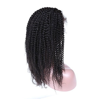 ZigZag Hair Afro Kinky Curly Lace Front Human Hair Wigs For Black Women 130% Density Brazilian Afro Curly Wig Virgin Human Hair Pre Plucked Bleached Knots …