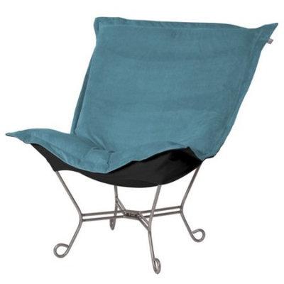 Elizabeth Austin Scroll Puff Mojo Accent Chair