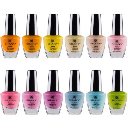 The SHANY Pastel Collection Nail Polish Set - 12 Gorgeous, Spring Inspired Shade