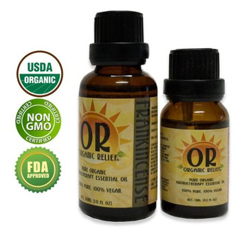 Organic Relief - Organic Frankincense Essential Oil 15ml
