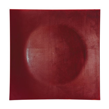 12L x 3/4H Lacquer Square Red Charger Plate/Case Of 24