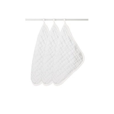aden + anais 100% Cotton Muslin Washcloth, Water Baby Too, 3 Count 3046