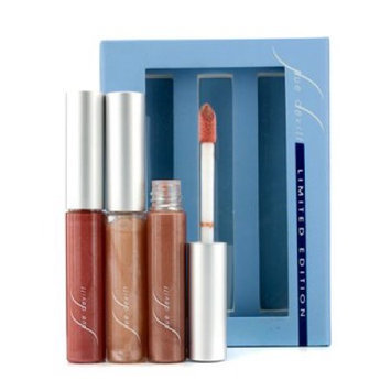 Sue Devitt Mini Lip Gloss Trio Holiday Kit (Limited Edition) - 3pcs