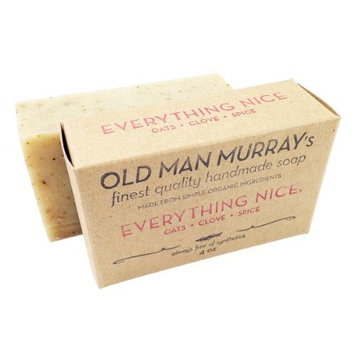 Everything Nice Oats, Clove, Spice All-Natural Soap (1 Bar)