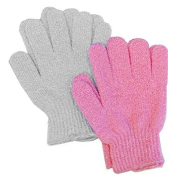 Aquasentials Exfoliating Bath Gloves (4 pairs)